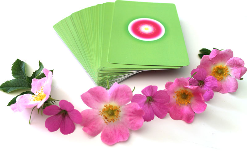 Bach Flower Oracle Cards for intuitive readings