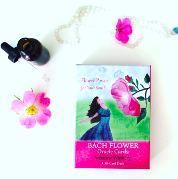bach flower oracle cards now available