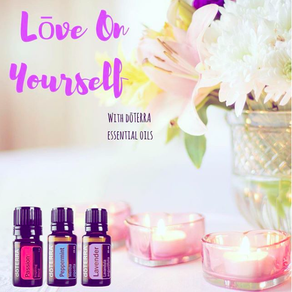 selflove with essential oils