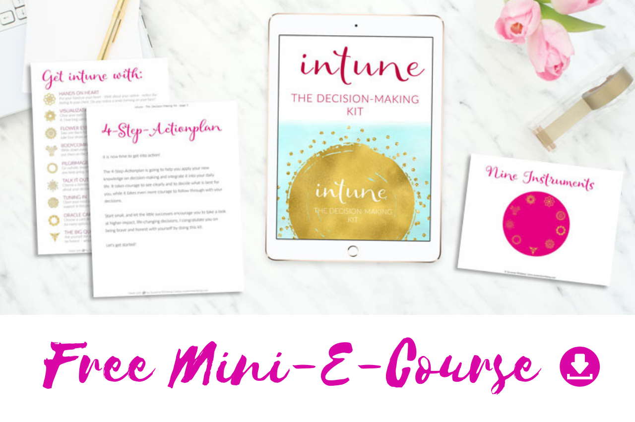 free mini course intuition decision susanne winberg
